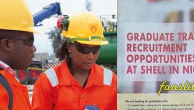 Shell Graduate Trainee Recruitment
