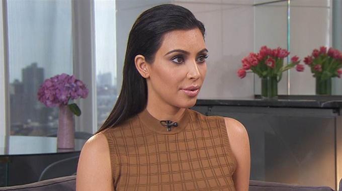 Kim Kardashian insists in new interview