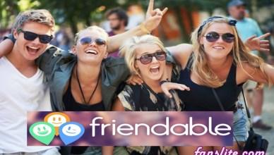 Download Friendable App