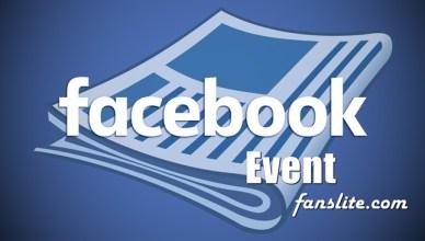 Facebook Private Event