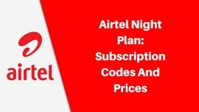 Code for Airtel Night Plan Subscription
