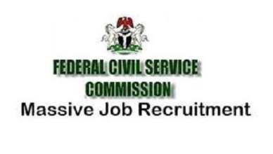 Federal Civil Service Recruitment 2021/2022 Application Portal Update