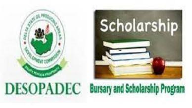DESOPADEC Undergraduate Bursary Award - Latest Update