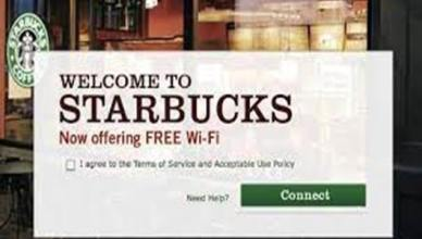 Wi-Fi In Starbucks Stores