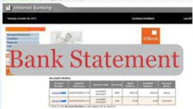 How to Apply for Bank Statement for Visa Application