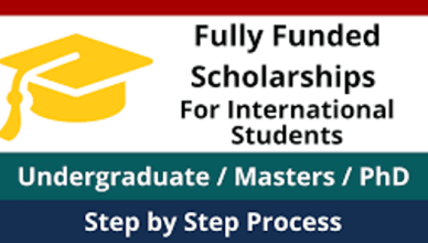 Fully Funded Scholarship for Ethiopians with Free Visa - Apply Here