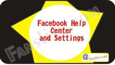 Facebook Help Center and Settings - Contact Facebook Help – Facebook Help Center   Facebook Customer Support