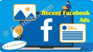 Facebook Ads - Facebook Recent Ads – Ad Activity Feature Now Allows Users to Revisit Ads - New Ads Feature Facebook
