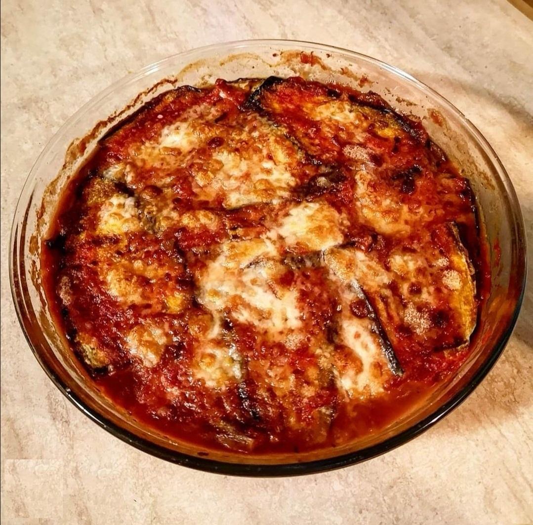 Parmigiana al microonde