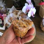 Rose di Muffin soffici alle mele e noci senza olio senza burro e senza uova