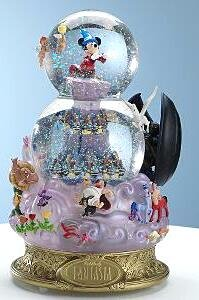 Fantasia musical snowglobe from our Snowglobes and