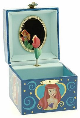 Ariel wooden music box from our Other collection  Disney