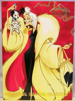 Set Of 25 Disney Villains Cards From Our Other Collection
