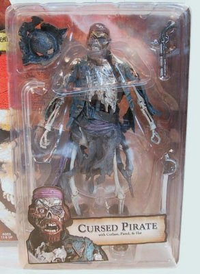 Cursed Pirate skeleton action figure from our Other collection  Disney collectibles and