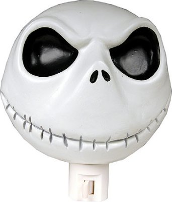 Smiling Jack Skellington Head Night Light From Our