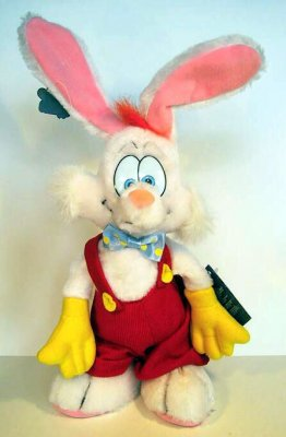 Roger Rabbit large plush doll  soft toy from our Plush collection  Disney collectibles and