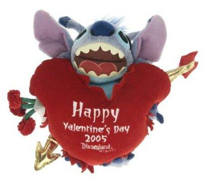 Stitch Happy Valentines Day 2005 Plush Doll Soft Toy