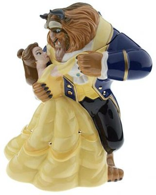 Belle dancing with the Beast cookie jar from our Cookie Jars collection  Disney collectibles
