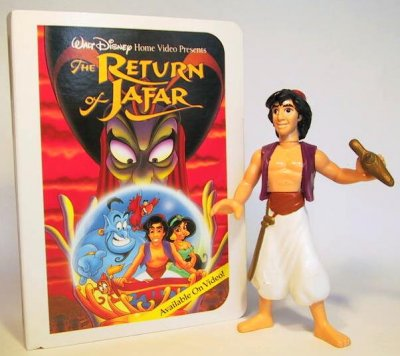 Aladdin with lamp fast food toy from our Fast Food Toys