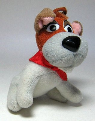 Dodger fast food toy  plush ornament from our Fast Food Toys McDonalds Burger King