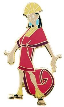 Kuzco pin from our Pins collection  Disney collectibles