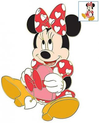 Minnie Mouse Box Of Bonbons St Valentines Day Series
