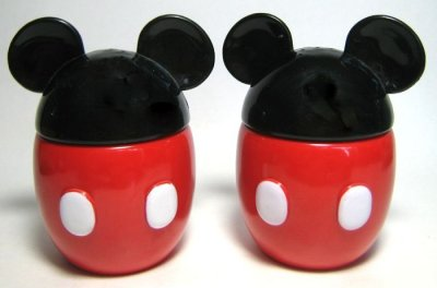 Mickey Mouse Classic Body Salt And Pepper Shaker Set From