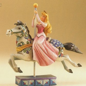 Princess of Beauty Sleeping Beauty of carousel horse figure from our Jim Shore Disney Traditions