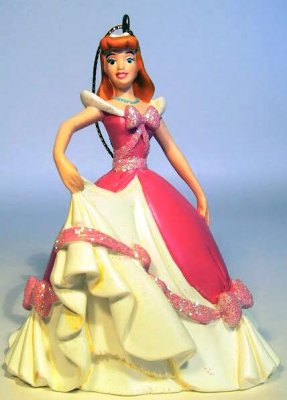 Cinderella In Pink Dress Storybook Ornament From Our
