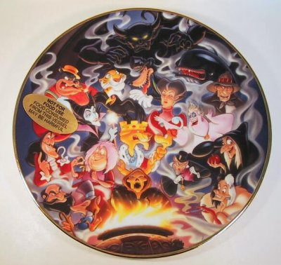 Disney Villains decorative ceramic plate from our Other collection  Disney collectibles and