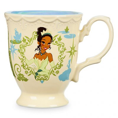 Tiana flower Disney princess coffee mug from our Mugs  Cups collection  Disney collectibles
