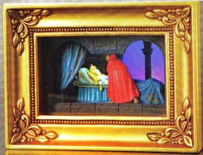 True Loves Kiss Sleeping Beauty Gallery of Light box from our Olszewski collection  Disney