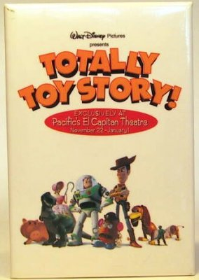 Totally Toy Story button from our Buttons collection