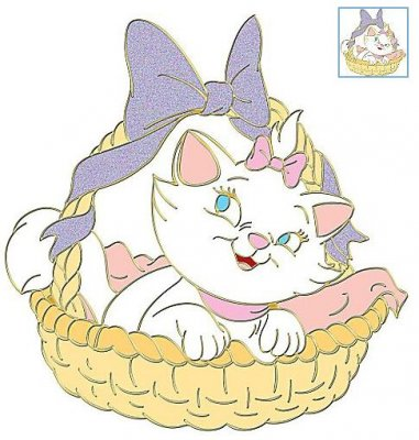 Marie In Easter Basket Happy Easter Series Pin From Our