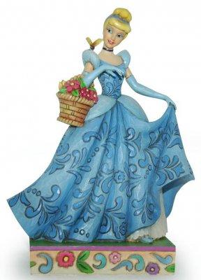 Spring Romance  Cinderella figurine Jim Shore Disney