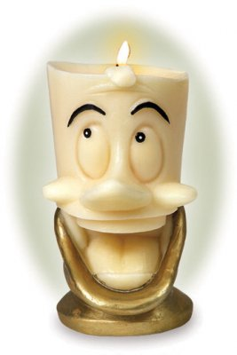 Lumiere candle from our Walt Disney Classics Collection