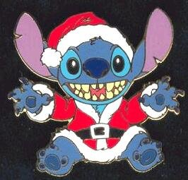 Stitch In Santa Suit Pin From Our Pins Collection Disney