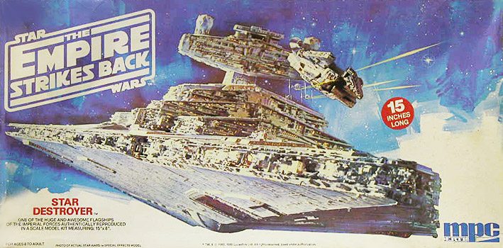 Imperial Star Destroyer by MPC