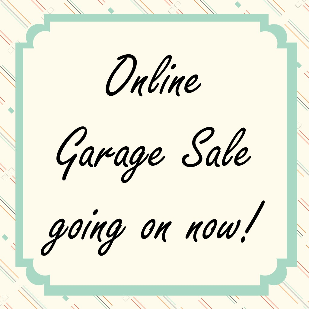 Online garage sale going on now  The Fantastically Frantic Crafter