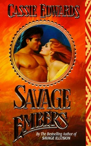 book cover of   Savage Embers    (Savage, book 9)  by  Cassie Edwards