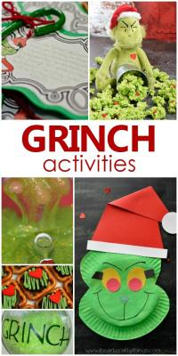 Grinch Activities