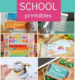 Free Back to School Printables - Fantastic Fun \u0026 Learning [ 1400 x 600 Pixel ]