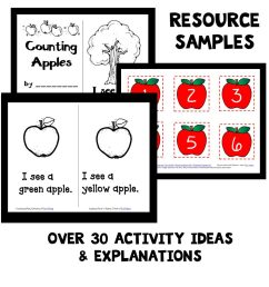 each set includes over 30 playful learning activities related to the theme and we ve provided different versions for home preschool families and classroom  [ 1024 x 1011 Pixel ]