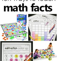 Fun Ways to Learn Addition and Subtraction Math Facts - Fantastic Fun \u0026  Learning [ 1400 x 600 Pixel ]