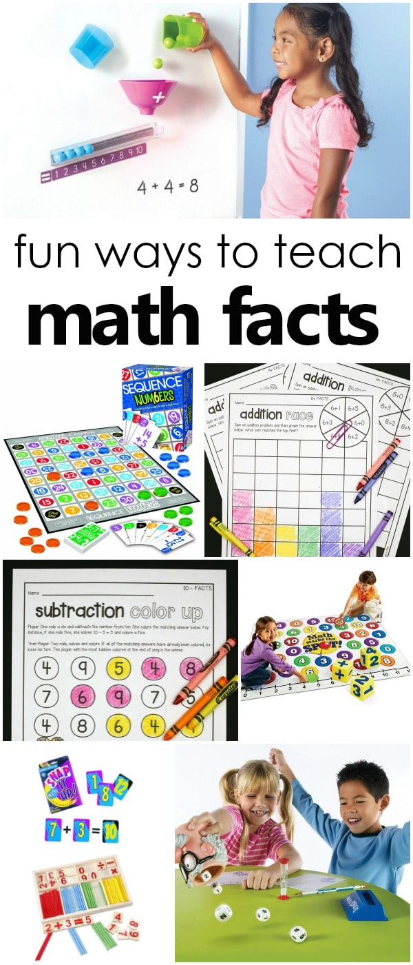 medium resolution of Fun Ways to Learn Addition and Subtraction Math Facts - Fantastic Fun \u0026  Learning