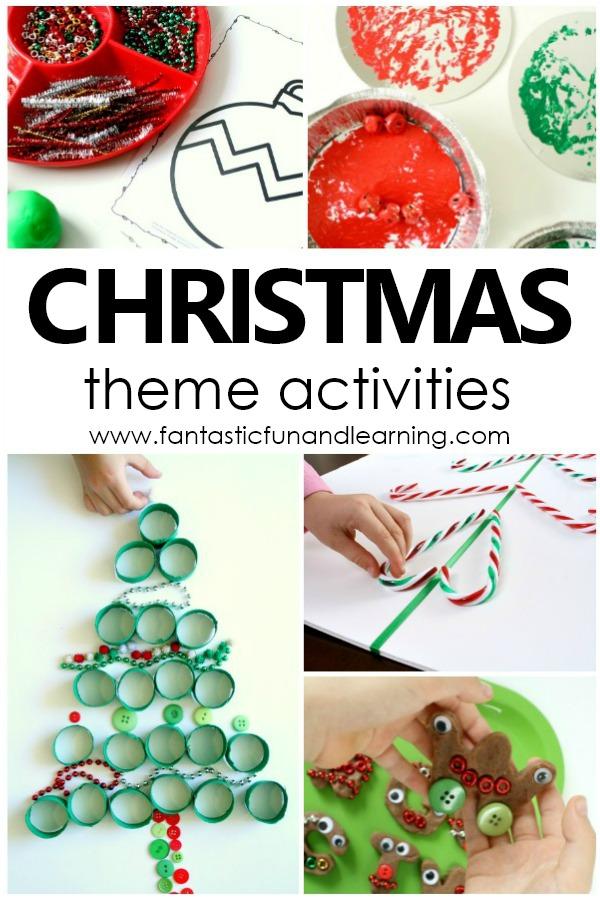 christmas theme preschool activities