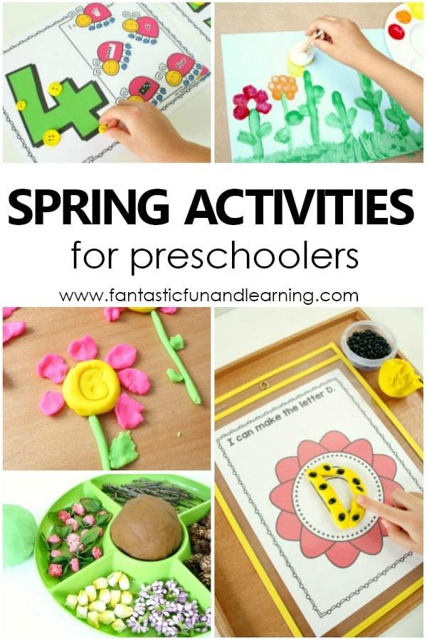 spring theme preschool activities