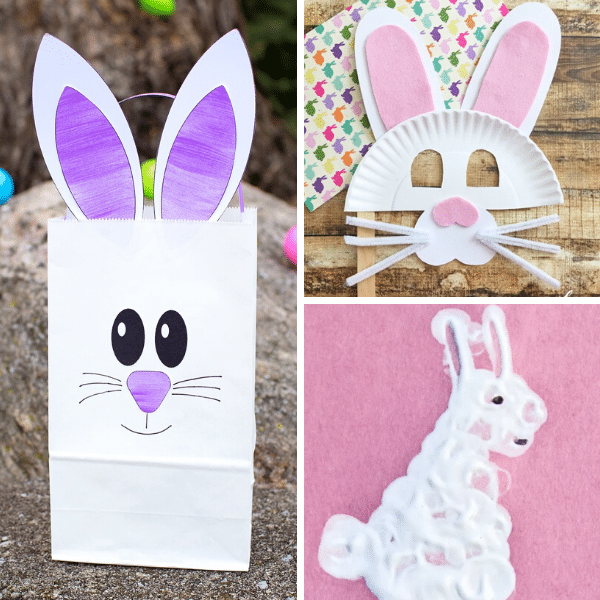 20 Adorable Bunny Crafts For Kids Fantastic Fun Learning