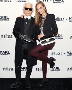Presentación Melissa x Karl Lagerfeld