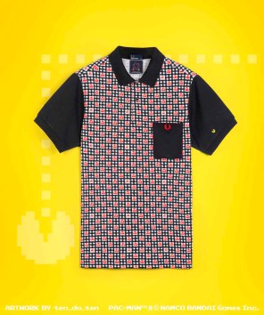 Fred Perry x Pac-Man